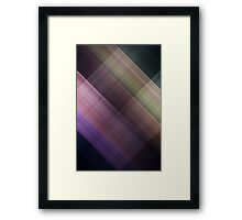 Motion 8 Framed Print