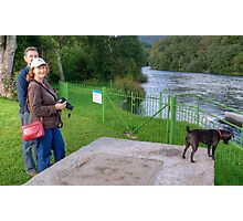 Tarn and the Aussie Tourists Photographic Print