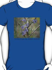 Twining Fringe Lily. T-Shirt