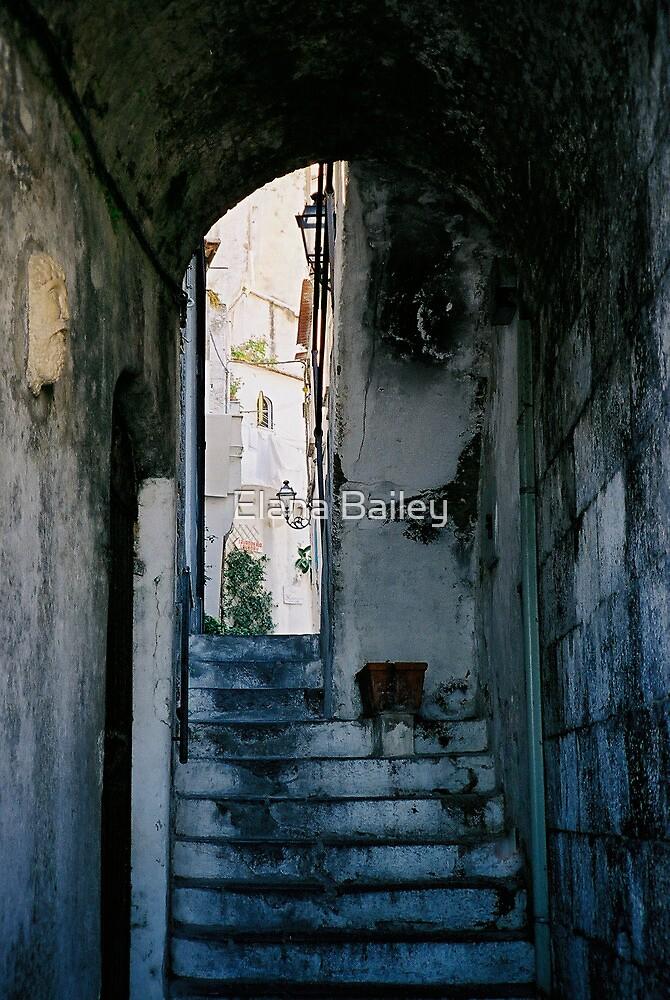 Amalfi steps, Italy by Elana Bailey