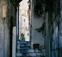 Amalfi steps, Italy by Elana Bailey