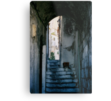 Amalfi steps, Italy Metal Print