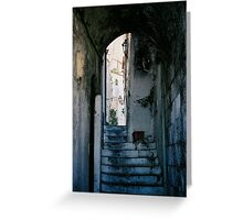 Amalfi steps, Italy Greeting Card