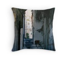 Amalfi steps, Italy Throw Pillow