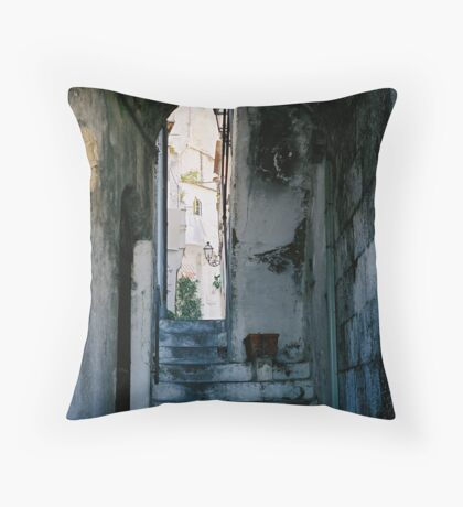 Amalfi steps, Italy Throw Pillow