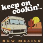 Funny - Keep on Cookin'! (Distressed Vintage Look) by robotface