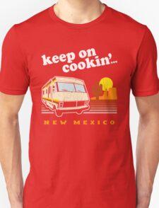 Funny - Keep on Cookin'! (Distressed Vintage Look) Unisex T-Shirt