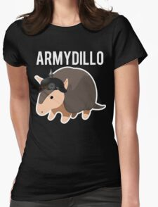 ArmyDillo Army Armadillo Womens Fitted T-Shirt