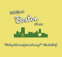 Boston Tourism Kids Clothes