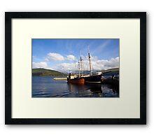 Loch Fyne Framed Print