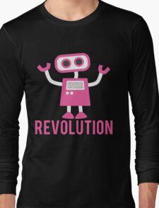 Robot Revolution Uprising Long Sleeve T-Shirt
