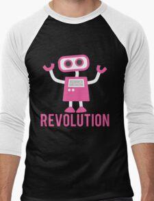 Robot Revolution Uprising Men's Baseball ¾ T-Shirt