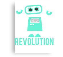 Robot Revolution Uprising Canvas Print