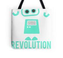 Robot Revolution Uprising Tote Bag