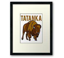 Buffalo Tatanka Framed Print