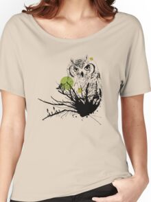The wise owl Women's Relaxed Fit T-Shirt