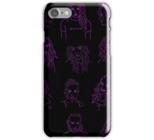 Perrie Pattern Pink iPhone Case/Skin