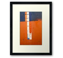 Four Deep Framed Print