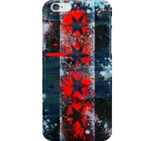 Chicago Flag Spray Paint iPhone Case/Skin
