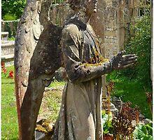 Weeping Angel 2, Castle Ashby by Veterisflamme