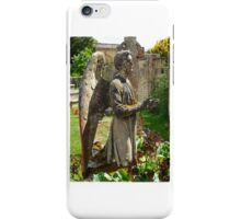 Weeping Angel 2, Castle Ashby iPhone Case/Skin