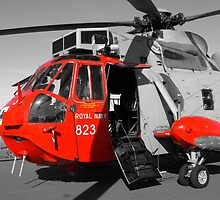 Royal Navy Rescue Helicpoter by Chris L Smith