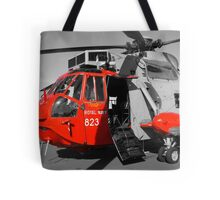 Royal Navy Rescue Helicpoter Tote Bag