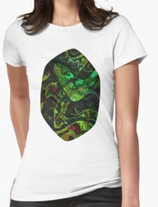 Abstract DM 03 Womens Fitted T-Shirt
