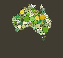 aussie buttons green and gold Unisex T-Shirt