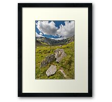 The Glyderau Range Framed Print