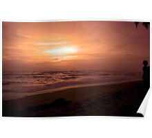 Sri Lanka Sunset Poster