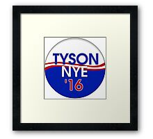 Tyson-Nye 2016 Framed Print