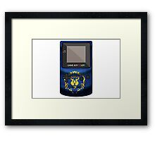 Alliance2 - Old School Gaming Framed Print