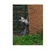playful kitten Art Print