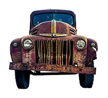 Rusty Ford Pickup Truck Photographic Print