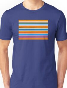 Colorful Striped Seamless Pattern Unisex T-Shirt