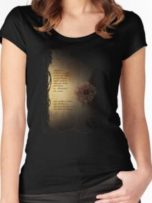 Leliana's Song Elvish Women's Fitted Scoop T-Shirt