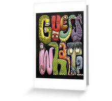 Guess What by Tim Raglin Greeting Card
