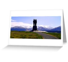 Commando Memorial Greeting Card