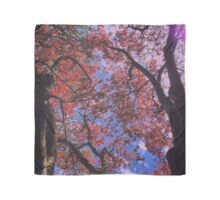 Fall Leaves in the Spring Scarf
