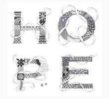 Zentangle®-Inspired Art - Tangled Hope One Piece - Long Sleeve