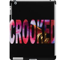Crooked Genius Line iPad Case/Skin