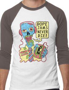 Dope Jams Zombie Men's Baseball ¾ T-Shirt