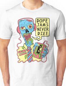Dope Jams Zombie Unisex T-Shirt