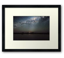 Tyrrel - Night Sky Framed Print