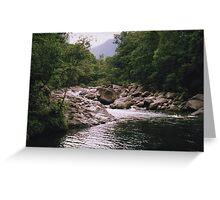 Mossman Gorge - Far North Queensland. Greeting Card
