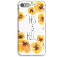 This is Hell iPhone Case/Skin