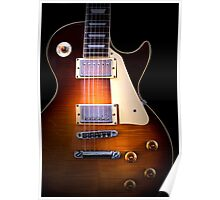 Curvaceous Guitar Poster