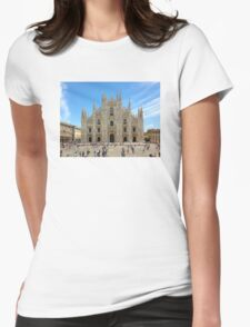 Milan Cathedral, ITALY Womens Fitted T-Shirt