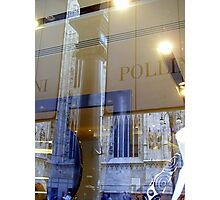 Pollini sells the Duomo.... Photographic Print